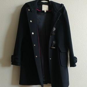 XS Kate Spade hooded coat